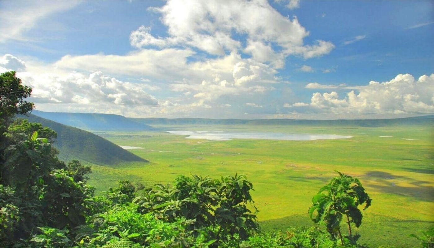 Ngorongoro crater caldera, Tanzania